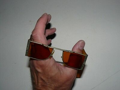 ANTIQUE  VERY RARE INDIAN TRAIN DRIVERS SUNGLASSES c 1900's
