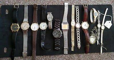 job lot of quality used watches