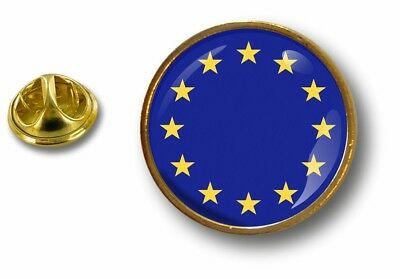 pins pin badge pin's metal button drapeau cocarde europe union europeenne ue cee