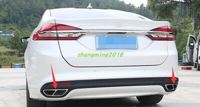 Stainless steel Exhaust End Tip Pipes Muffler For Ford Fusion Mondeo 2013-2018