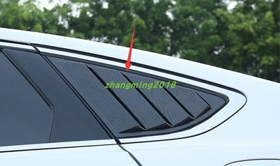 ABS Carbon Fiber Interior Rear Reading Lampshade Cover Trim Fits Toyota Camry 18