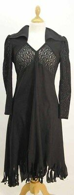 Black Lace Detailed Witch Dress