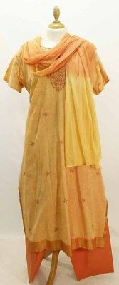 A Lovely Peach Cotton Indian Punjabi Outfit