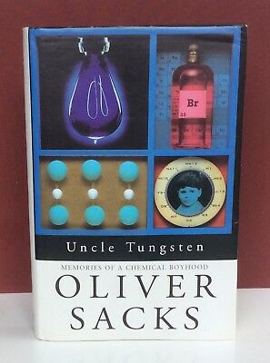 Oliver Sacks - Uncle Tungsten: SIGNED First Edition 1st /1st - Hbk Dw 2001