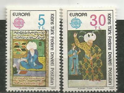 Cyprus Turkey / Cyprus turkish EUROPE cept 1980 MNH