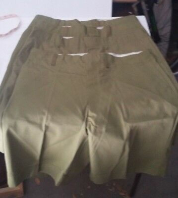 """Vintage Boy Scouts Of America Shorts A-7 34"""" Waist One (1) Pair"""