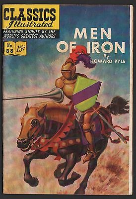 Classics Illustrated #88 HRN 89 VG/F 5.0 OW Men of Iron ORIGINAL EDITION