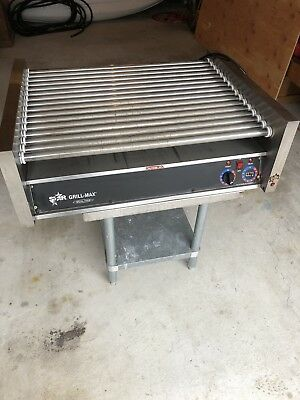 Star Grill Max Model 72 Hot Dog Roller Grill