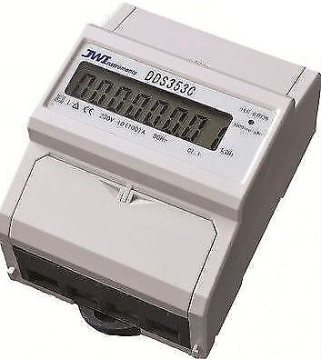 Electrical Reading Meter High Precision DDS353C 100A Electric Single Phase kWh