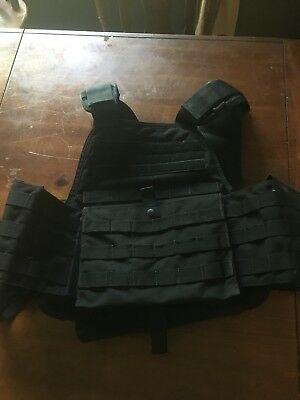 Modular Operator Plate Carrier With Eagle Shoulder Pads