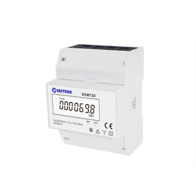 SDM72D MID Three Phase Digital kWh Meter 100A Direct Connected  Pulse Output 3P