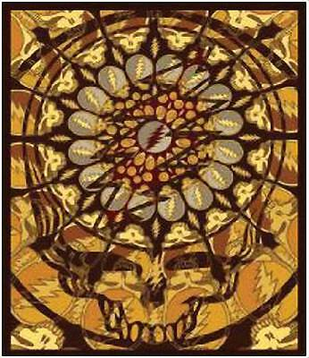 Grateful Dead Tapestry Steal Your Face Mandala Wall Hanging Skull Psychedelic