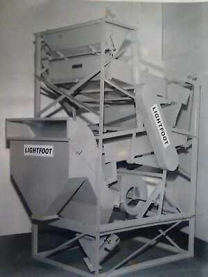 SEED CLEANER/ FANNING MILL GRAIN CLEANER STEEL includes 4screens amfseedcleaners