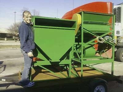 New steel  SEED CLEANER  Fanning mill USA Wisconsin LIGHTFOOT amfseedcleaners