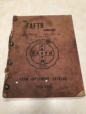 1964-65 The Faeth Company Farm Implement Catalog
