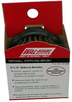 Wal Board Tools 4-3/4 inch Drywall Stippling Texture Brush Tool Part Accessory