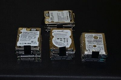 Lot of 18 sata hard drives These drives have been DOD wiped and checked