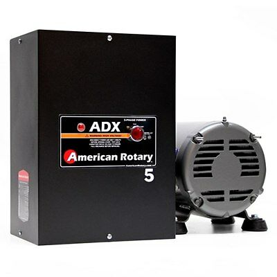 5hp ADX American Rotary Phase Converter