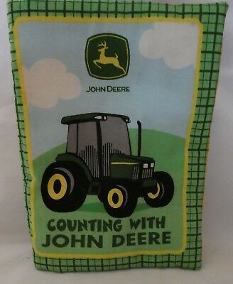 John Deere Counting With John Deere Tractor Cloth Book