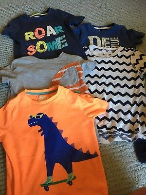 Boys T Shirts Age 3-4 Years