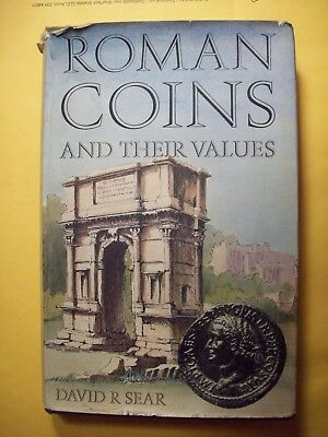 David R Sear Roman Coins And Their Values Book