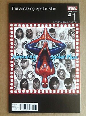 Amazing Spider-Man V.4 #1 Mike Del Mundo Hip-Hop Variant Cover Nm 1St Printing