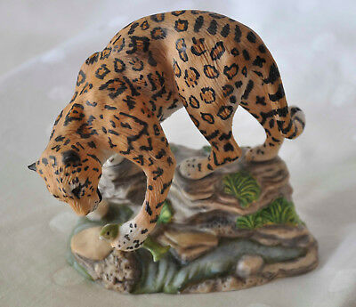 1989 The Franklin Mint Great Cats of the World JAGUAR