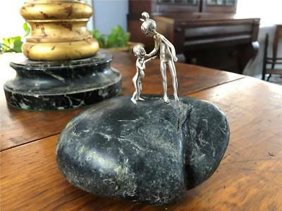 Fabulous Mid Century Modern Sterling Silver Sculpture Barney Bright