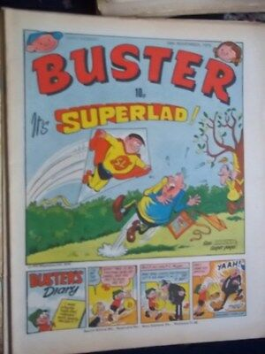 Buster Comic.[ 10Th Nov 1979]. Byrds Of Paradise Pic Strip