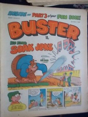 Buster  Comic.[ 3Rd May 1980].  3Rd Part Of  Your Fun Book