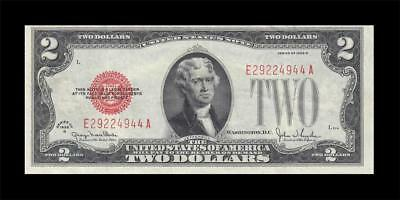 1928-G United States Note Two Dollars $2 (( Ef ))