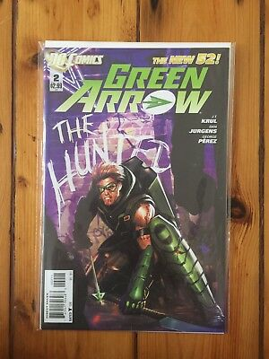 Green Arrow #2 DC new 52 bagged and boarded free postage