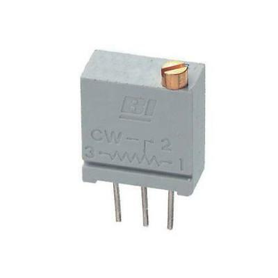 5 x TT Electronics/BI 67 Series 20-Turn Carbon Trimmer Resistor, 500Ω ±10%