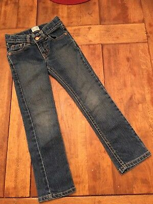 The Childrens Place Girls 6 Skinny Stretch Jeans Denim expandable waist