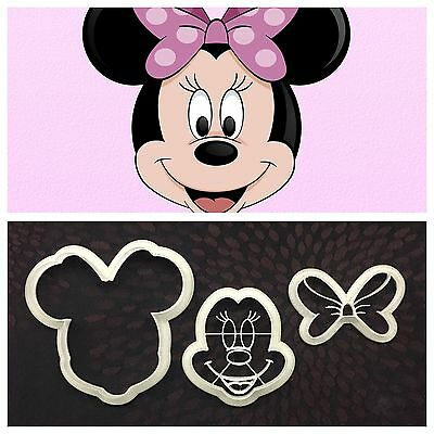 Formine Minnie Mouse Formina Biscotti 9/10cm Cookie Cutter Topolina