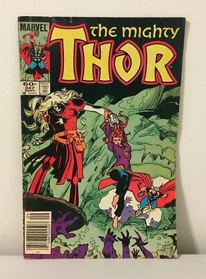 Marvel Comics The Mighty Thor #347 Sept. 1984