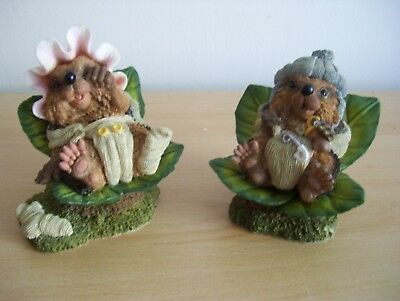 Country Artists Hedgies Baby Hetty & Baby Howard 90324