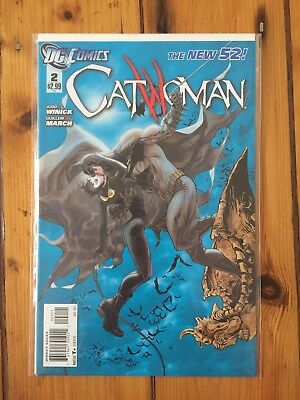 Catwoman #2 Judd Winick DC new 52 bagged and boarded free postage