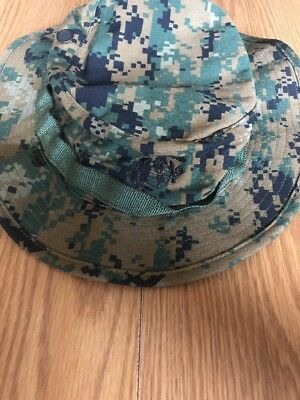 USMC Marine Corps Woodland MARPAT Field Boonie Cover (Large)