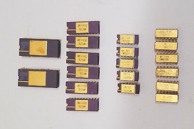 19 - CPU'S - MICROPROCESSOR'S - MEMORY - FOR GOLD RECOVERY OR SCRAP  -1.3 oz