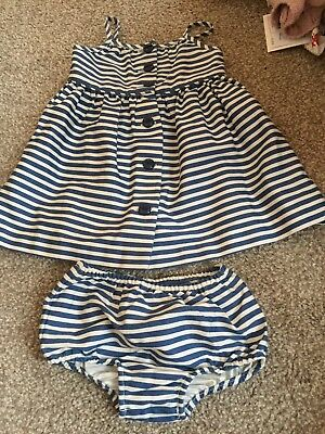Bnwt Baby Girl 6month Ralph Lauren Dress and knickers