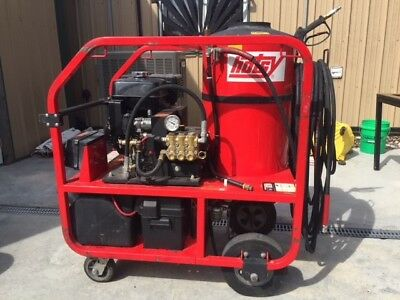 hotsy hot water pressure washer model 1075 BE 3500 PSI, low hours