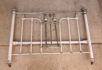 Antique Brass Cast Iron Bed Restoration Project