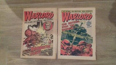 WARDLORD COMICS x2 ISSUES FROM 1975.