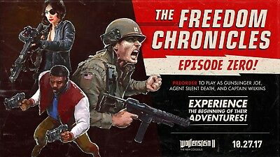 Wolfenstein Ii The Freedom Chronicles: Episode Zero! Dlc Xbox One Not Full Game