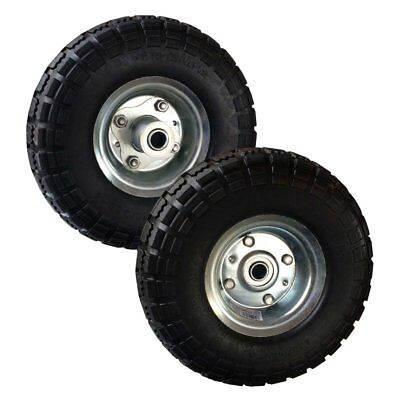 Buffalo Tools 10 in. No Flat Tires - Set of 2, Black, 10 in.