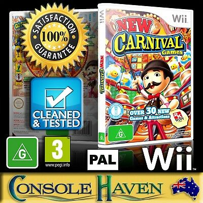 (Wii Game) New Carnival: Fun Fair Games (G) (Party & Compilation) PAL,Guaranteed