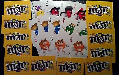 M & M 's Swap Cards Replacement Card Games M & M's Peanuts Free Shipping