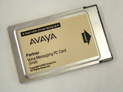 Avaya Partner Messaging PC Small 2x4 Voicemail Card CWD3 700226517 INITIALIZED