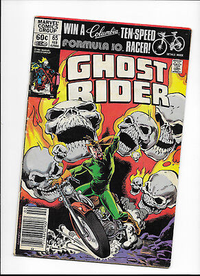"Ghost Rider #65 {Feb 1982 Marvel} Bronze Age! F ""the Lair Of The Loan Shark!"""